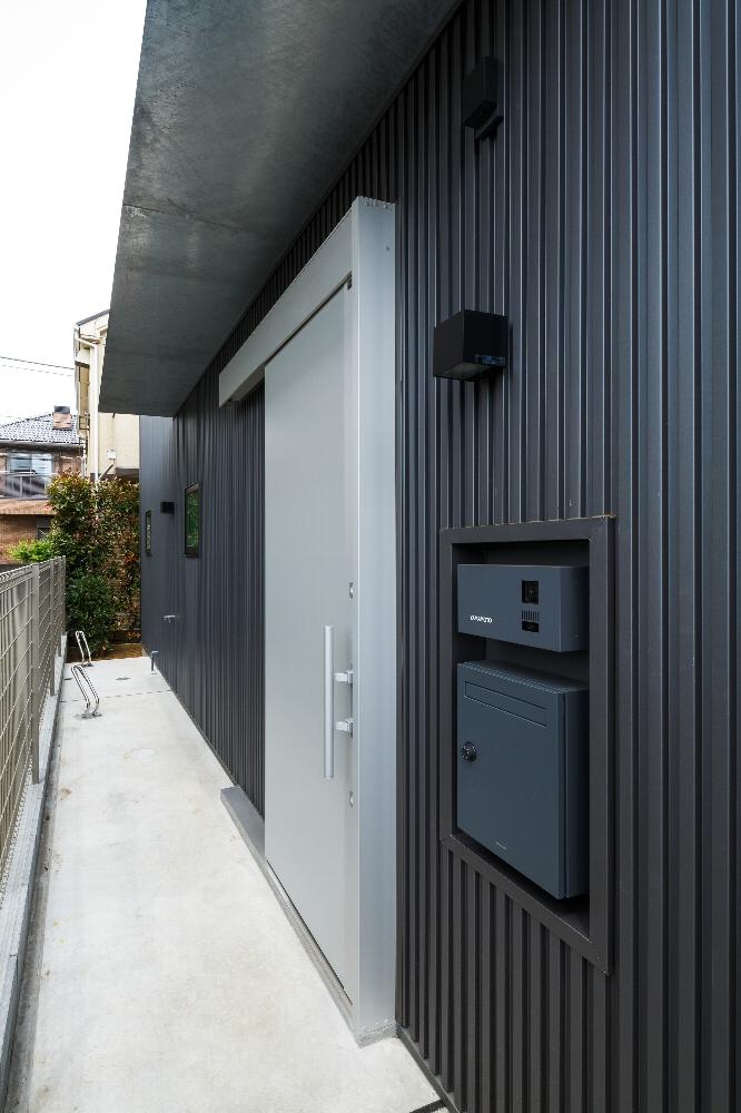 小金井市「Unir」の狭小住宅 完成写真