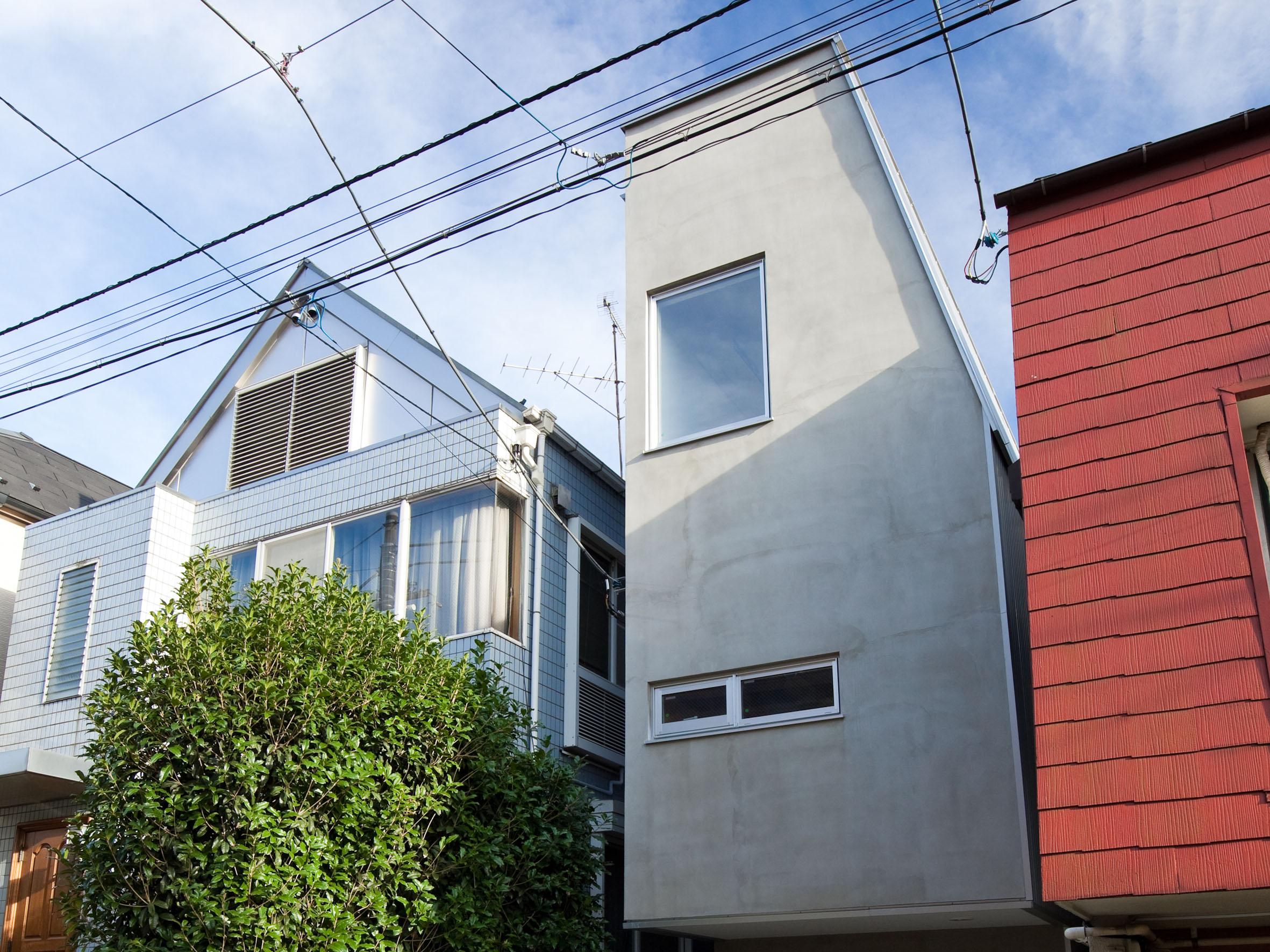 目黒区「iugum」の狭小住宅 完成写真01