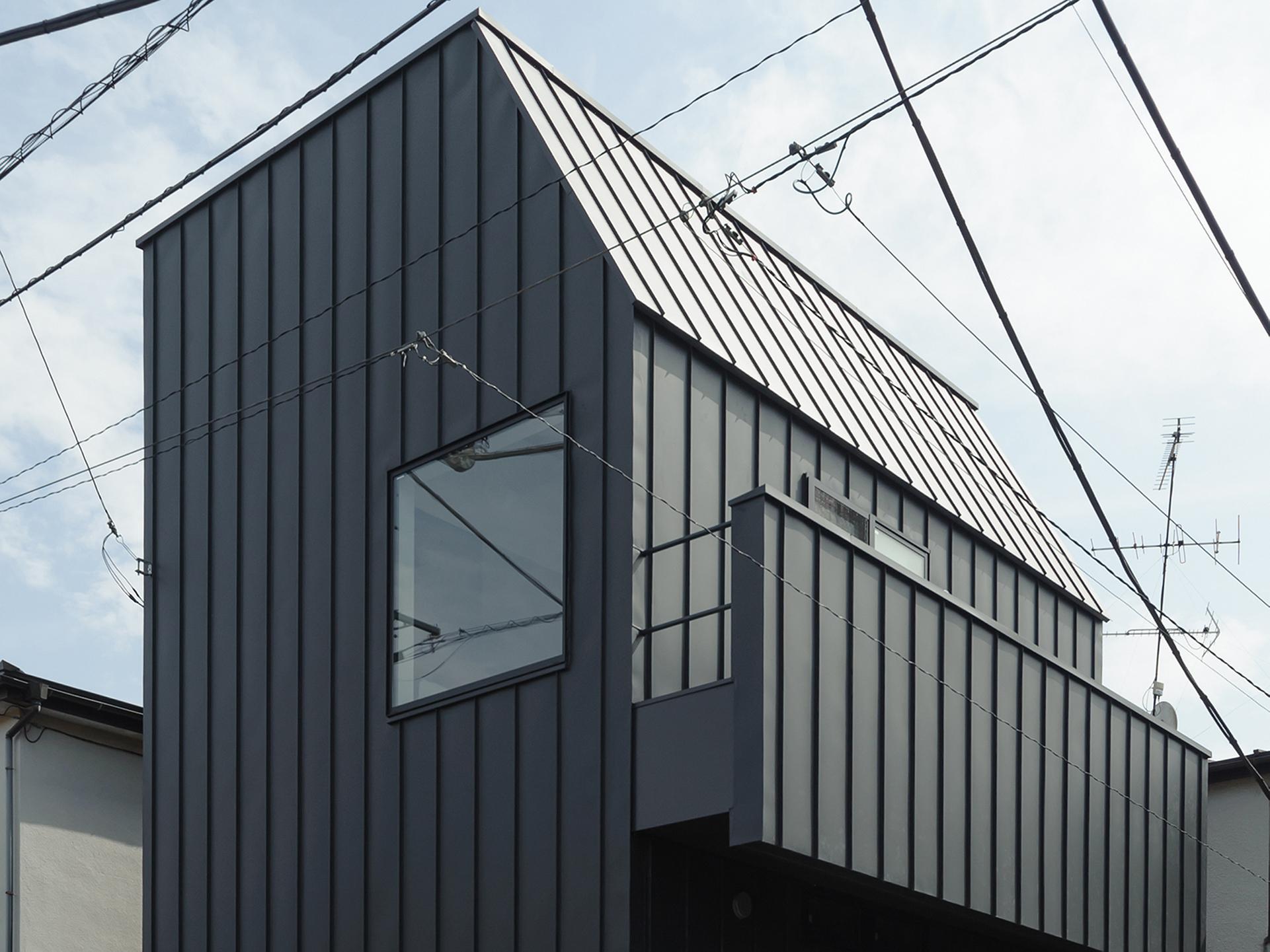 世田谷区「SWH」の狭小住宅 完成写真01