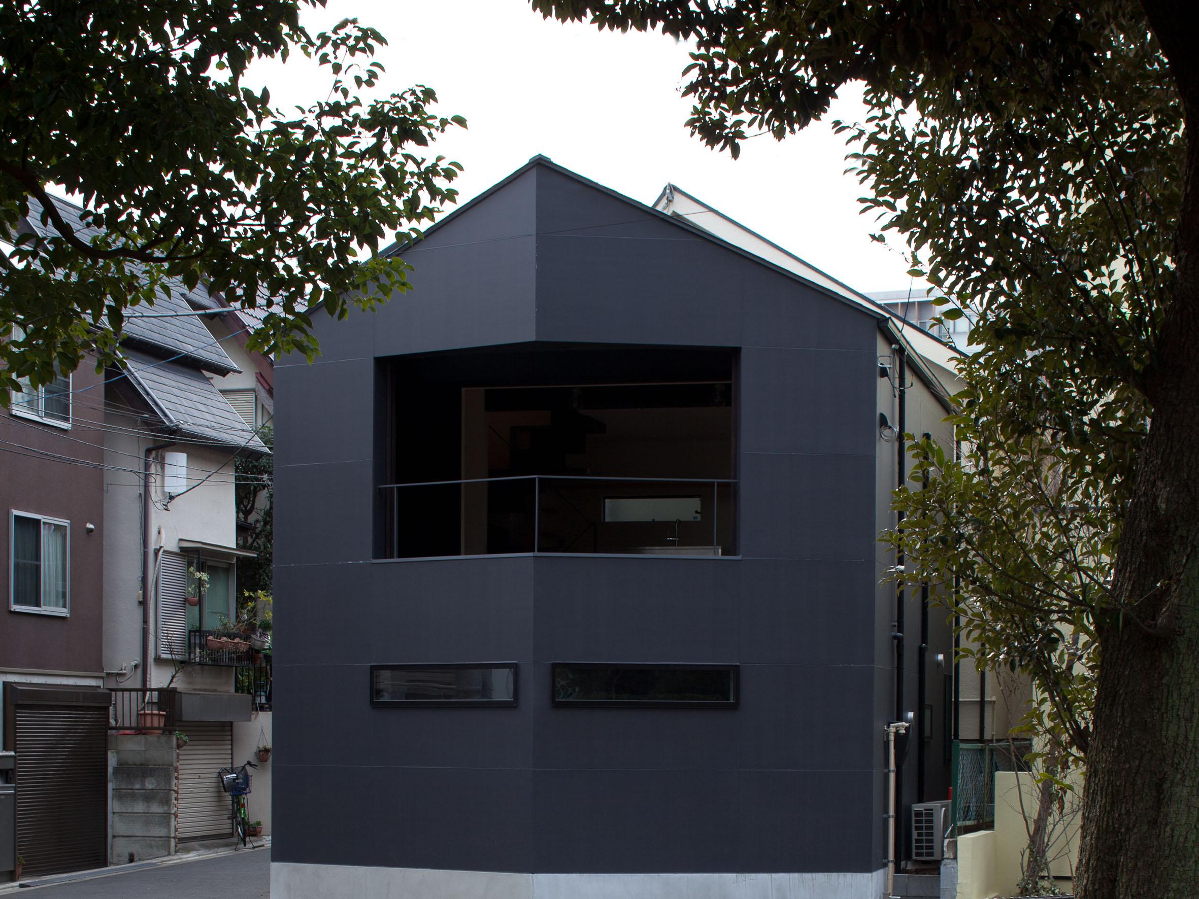 世田谷区「K-nest」の狭小住宅 完成写真01