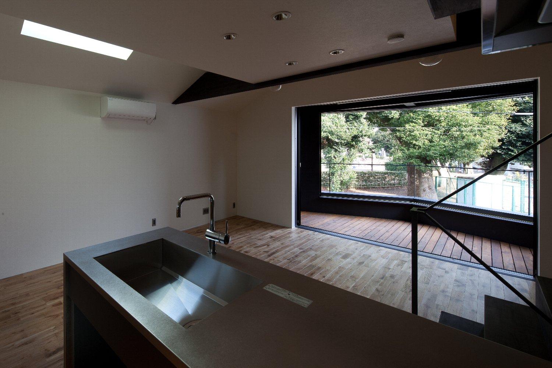 世田谷区「K-nest」の狭小住宅 完成写真