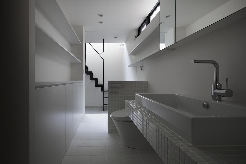 品川区「Refuge」の狭小住宅 完成写真