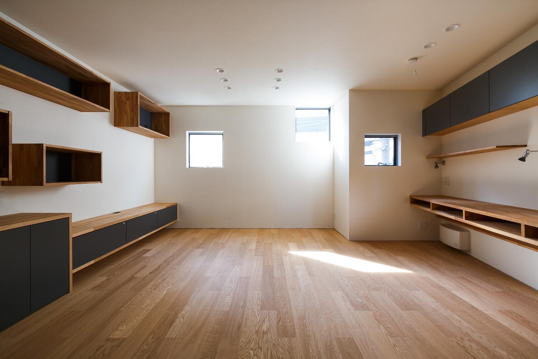 世田谷区 「gj」の狭小住宅 完成写真