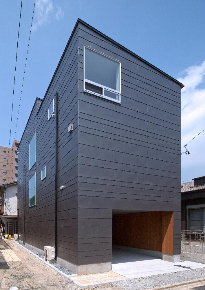 名古屋市「SHS」の狭小住宅 完成写真